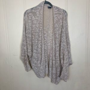 Urban Outfitters small open knit cream cardigan